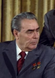 Leonid Brezhnev in color