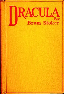 Dracula by Bram Stoker - Reproduction of first original cover (Credit: Public Domain)