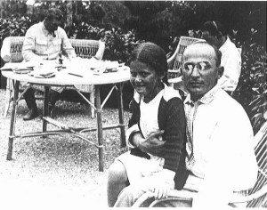 Lavrenti Beria with Stalin's daughter Svetlana