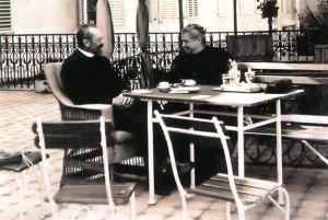 Istvan Tisza with his wife