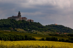 Pannonhalma Abbey - from a distance