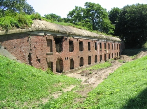 Borek Fort - part of the Przemysyl Fortress  as it looks today