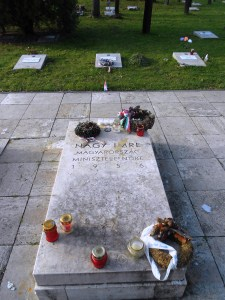 Grave of Imre Nagy - martyr of the 1956 Hungarian Revolution