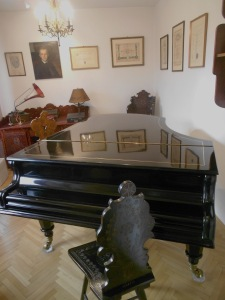 The room in which Bartok composed from 1932 -40