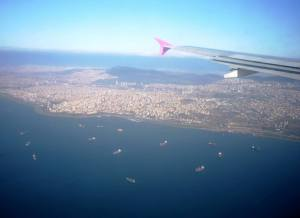 Istanbul's growth as seen from the air