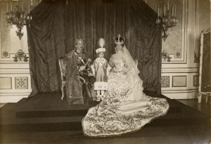 The Last Coronation - Emperor Charles, Empress Zita and Crown Prince Otto