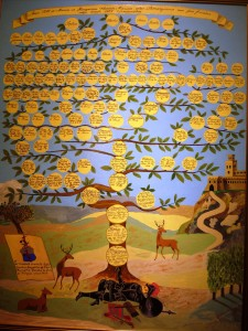 Semsey Family Tree Painting