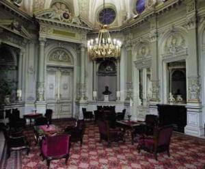 The Royal Waiting Room at Nyugati Palyudvar