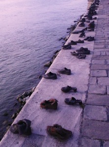 Shoes on the Danube Promenade Monument