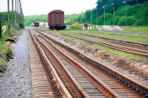 Train Tracks at Zahony