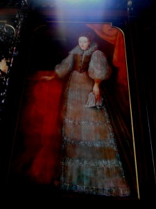 Portrait of Elizabeth Bathory as seen in the Hall of the Ancients at Nadasladany Castle