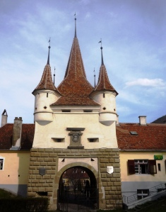 Catherine's Gate in Brasov - the Saxons would only allow outsiders inside the city walls on a very limited basis