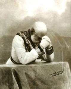 Franz Josef in Prayer