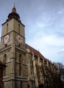 The Black Church in Brasov, Transylvania