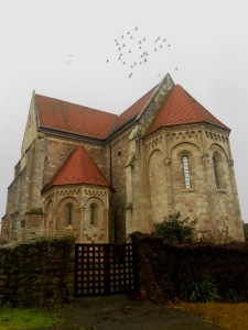Árpád Age Romanesque church in Ocsa - originally built by the Premonstratensian Order
