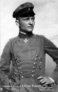 He survived the Eastern Front & found fame - Manfred von Richthofen on a postcard from 1917