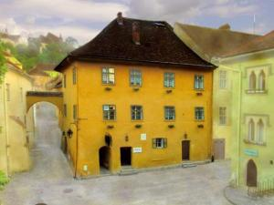 The house in Sighisoara that is claimed as Vlad Tepes birthplace