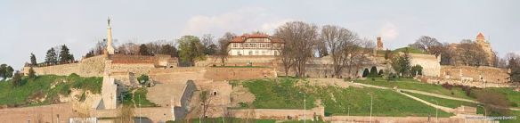 Belgrade Fortress - one of its many sides (Credit: Danomir)