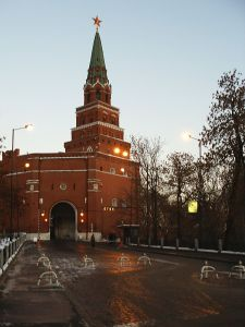 Borovitsky Gate - one of the entrances to the Kremlin