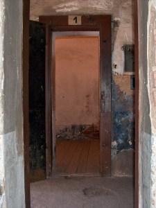 Cell where Gavrilo Princip was imprisoned at Terezin