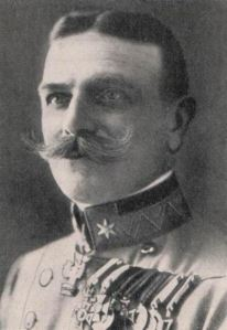 General Hermann  Kusmanek von Burgneustadten- Commanding officer of the Austrian-Hungarian forces during the siege of Przemysl