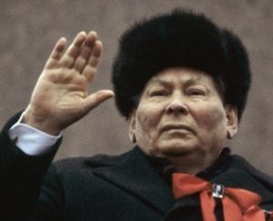 The Long Goodbye - Chernenko strikes a pose