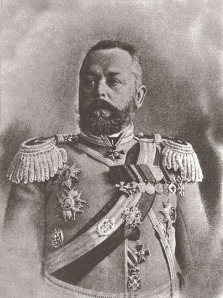 Aleksandr Samsonov - ill-fated commander of the Russian Second Army at the Battle of Tannenberg