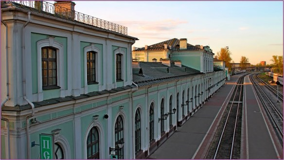 Pskov Railway Station - point of abdication