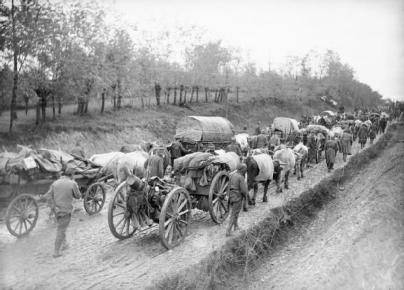 Serbian army in World War I - retreating into oblivion