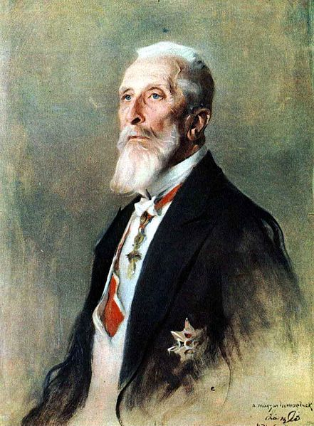 Count Apponyi - in his later years he represented Hungary at the Paris Peace Conference, but failed to get the peace terms changed