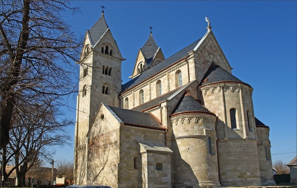 The Benedictine Abbey at Lebeny - in both shadow and light1