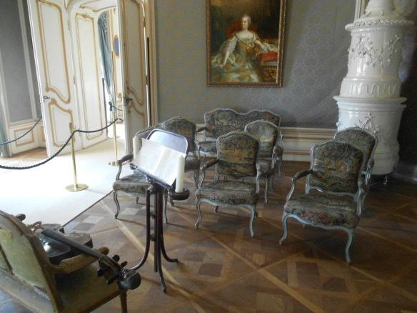 The Music Salon inside Esterhaza Palace - Joseph Haydn created some of his greatest works here