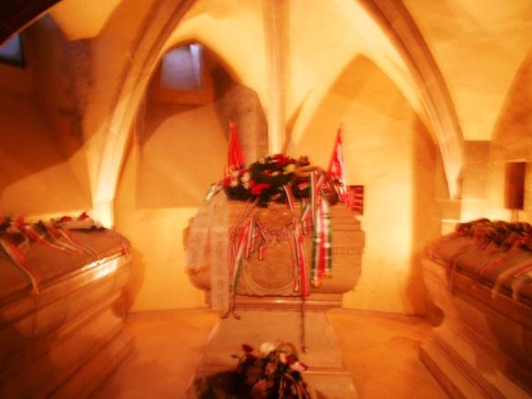 Ferenc Rakoczi's tomb at St. Elisabeth Cathedral