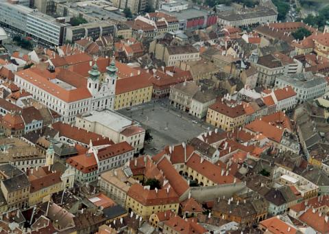 Gyor - this beautiful Hungarian city's name belies a vague and mysterious peoples past