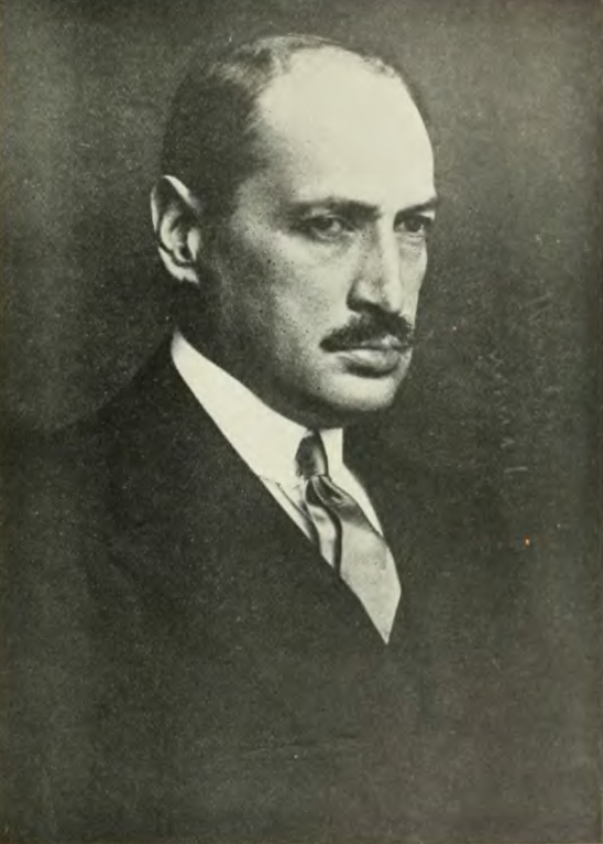 Mihaly Károlyi - this photo was taken after his exile