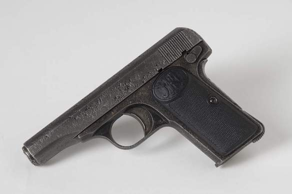 Pistol used by Gavrilo Princip to murder the Archduke and his wife (Credit: Heeresegeschichtliches)