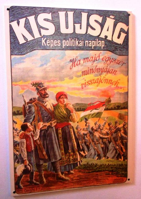 World War I propaganda poster for the Hungarian Army