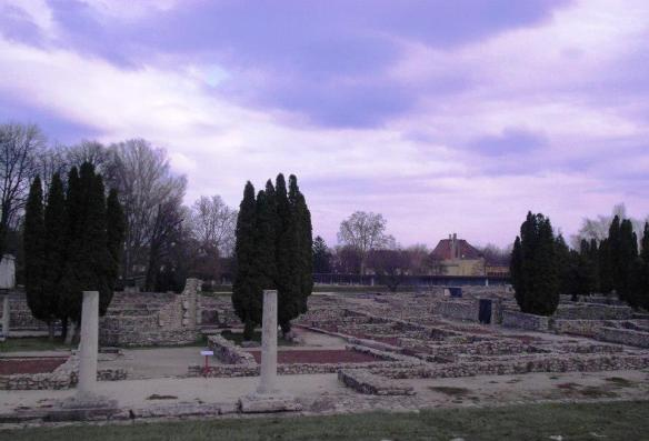 The ruins of Aquincum - the Roman Empire at its limits