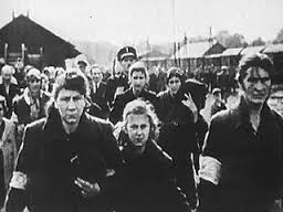 Jewish citizens of Berdychiv being led away during the summer of 1941