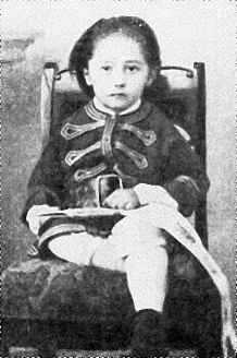Jozsef Teodor Konrad Korzeniowski (Joseph Conrad) - in 1860 at the age of three