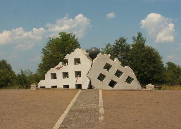 Memorial Monument at Recsk