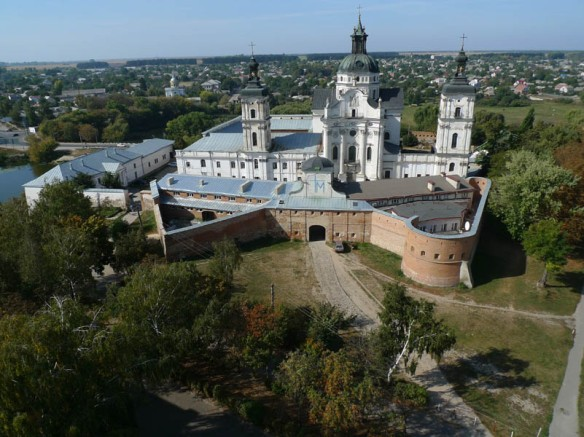 The 17th century Carmelite Monastery in Berdychiv