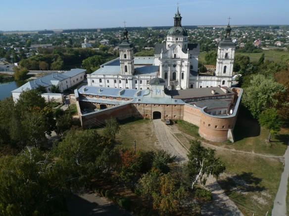 The 17th century Carmelite Monastery in Berdychiv