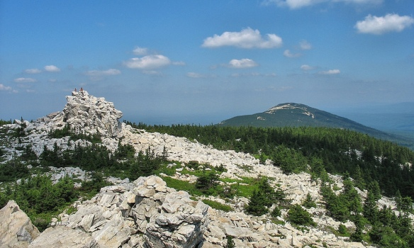 The Ural Mountains form the natural border of Far Eastern Europe
