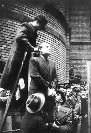 Ferenc Szalasi - just moments before his execution in March 1946