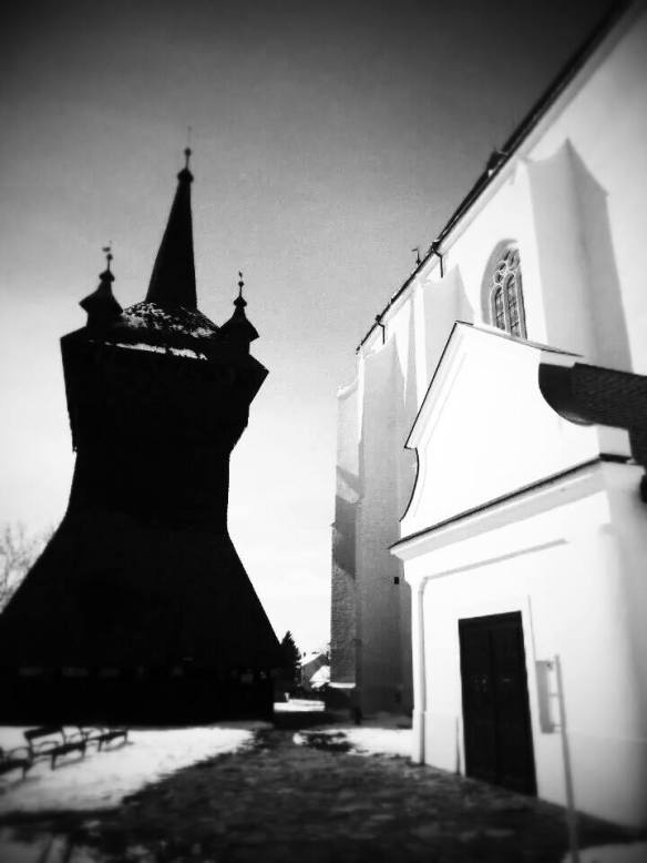 The Calvinist Church & the Wooden Belfry in Nyirbator