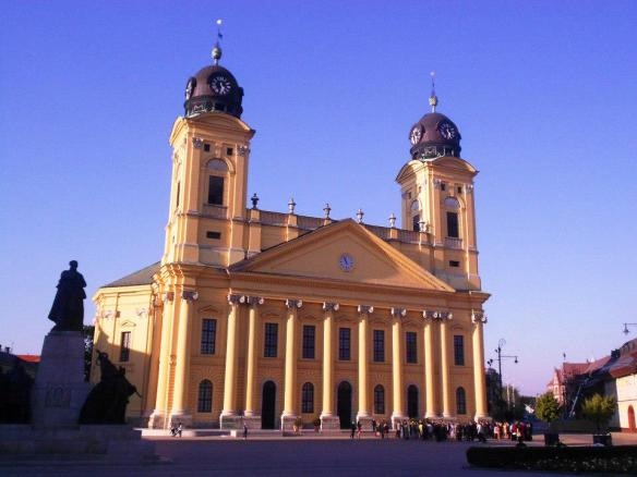 The Reformed Great Church in Debrecen (Credit: PePM)