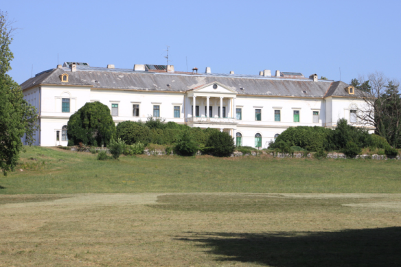 Erdody Castle today - now home to a psychiatric institution