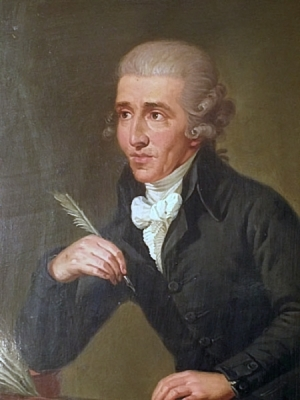 Portrait of Joseph Haydn - musical genius & servant of the Esterhazy's and Erdody's (Credit: Ludwig Guttenbrunn))