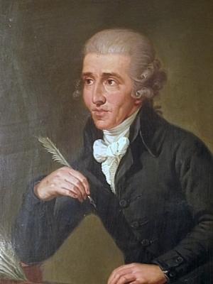 Portrait of Joseph Haydn - musical genius & servant of the Esterhazy's and Erdody's (Credit: Ludwig Guttenbrunn))